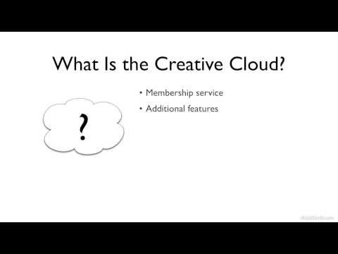 What Is the Creative Cloud?