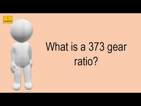 What Is A 373 Gear Ratio