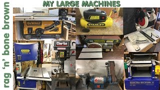 My Tools - Large Machines