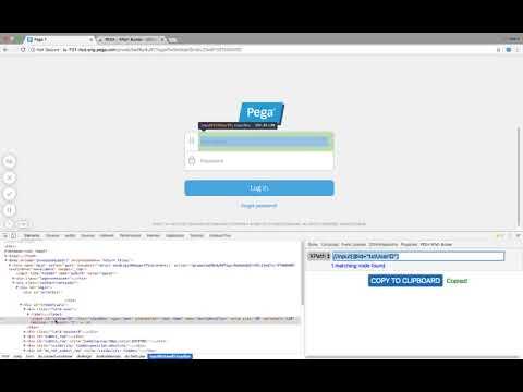 PEGA - XPath Builder Demo