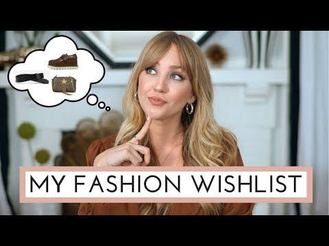 MY FASHION WISHLIST! | (Vegan)