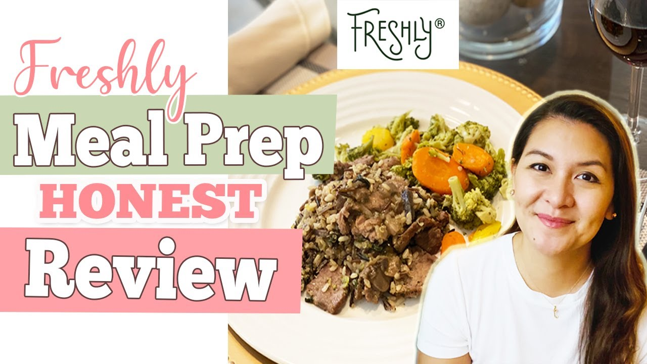 FRESHLY Meal Prep Review | Healthy Ready-to-Eat Meals | Body Reset 2020