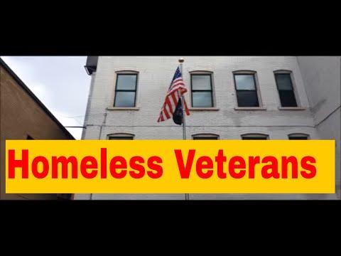 Visiting Homeless Veterans on Veterans Day!