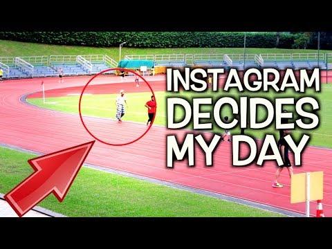 Instagram Decides My Day