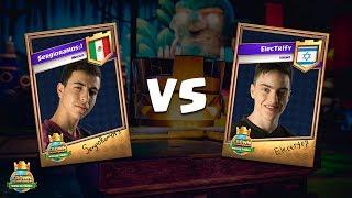 CCGS World Finals Quarter Finals - SergioRamos_) vs Electr1fy
