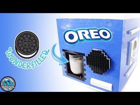 LEGO Cookies and Cream Milkshake Machine | Oreo Milkshake Maker