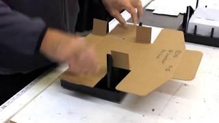 Easy Fold Corrugated Mailer Box Folding Fixture - Jig