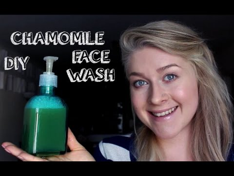DIY Chamomile Facial Cleanser for Glowing Skin