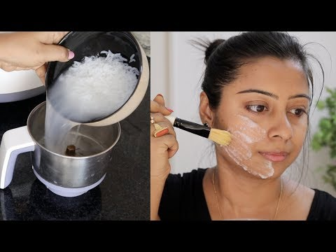 Boiled Rice For Permanent Skin Whitening ,Brightening, Anti-aging || Preventing Naturally Soumali