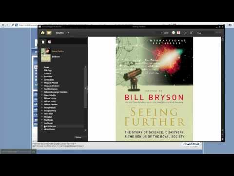 Reading an eBook Using Adobe Digital Editions (Windows and Mac OS X)