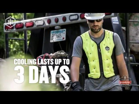 A Cooling Vest that Manages Heat Stress & Increases Productivity