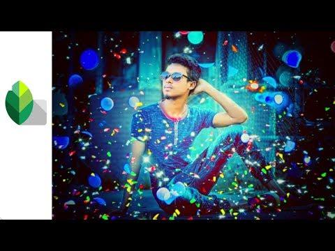 Snapseed Photo Editing _ Bokhe Colourful Stylish Editing