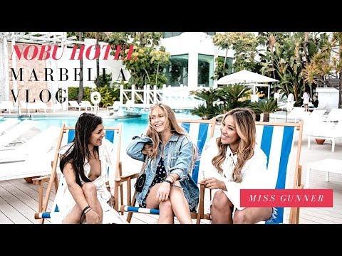 Nobu Marbella Vlog | Miss Gunner | Ashley Schuberg
