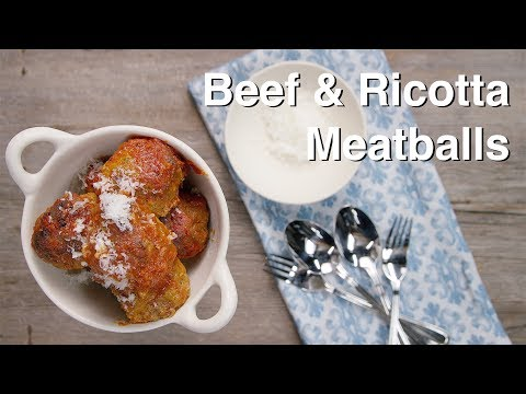 How to Make Classic Tender Meatballs || Le Gourmet TV Recipes