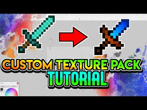 Minecraft CUSTOM Texture Pack TUTORIAL + FPS texture pack guide (2018) [ALL VERSIONS]