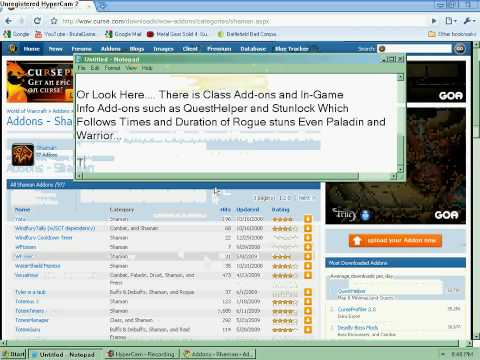 How to Add Add-ons to World of Warcraft and install Them