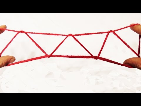 String Tricks! Easy Three Mountains String Figure Walkthrough