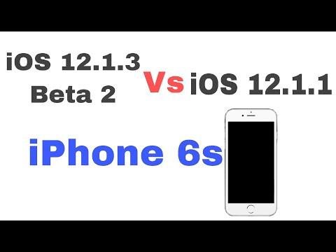 iOS 12.1.3 Beta 2 vs iOS 12.1.1 speed test on iPhone 6s | iSuperTech