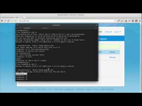 Building a Linux-Nginx-PHP Web Server in cloud VPS
