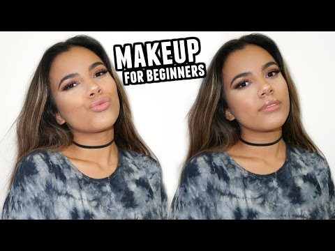 GO TO MAKEUP TUTORIAL For Beginners (Natural Look For Brown Eyes/Kylie Jenner Inspired 2017)