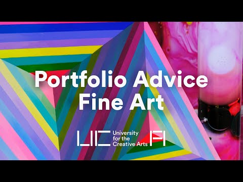 UCA - Portfolio Advice for Fine Art