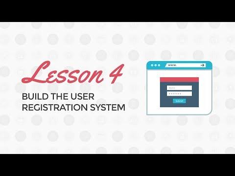 PHP Login and Registration Tutorial: Build the User Registration System
