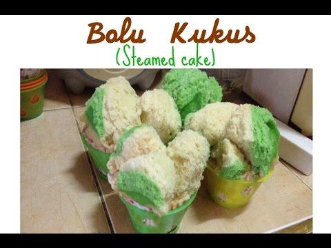 Resep Bolu Kukus HANYA 1 TELUR (1 egg steamed cake)