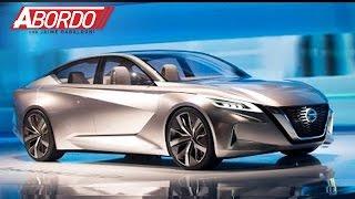 Nissan se atreve a mostrar el futuro del diseño de sus automóviles en Detroit con el Vmotion 2.0