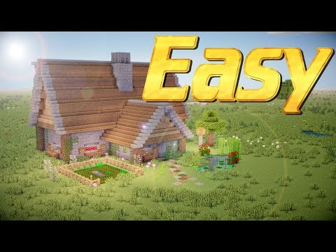 Minecraft: How to Build a Rustic House in Minecraft   Easy Rustic House Tutorial Lets Build PC