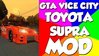 Ultimate Gta Vice City Mods-Toyota Supra (Fast and Furious)