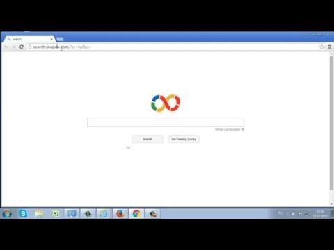 Как удалить Search.snapdo.com и рекламу от Snapdo