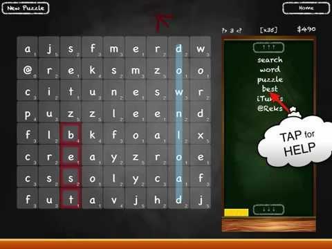 Search Words Puzzle iOS App