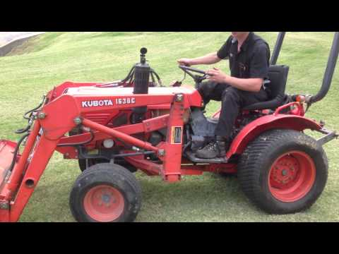 Driving the Kubota Tractor with No Steering