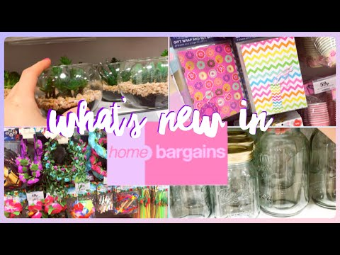 What's new in Home Bargains | Shop with me
