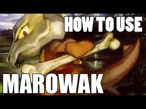 How To Use: Marowak! Marowak Strategy Guide! Pokemon