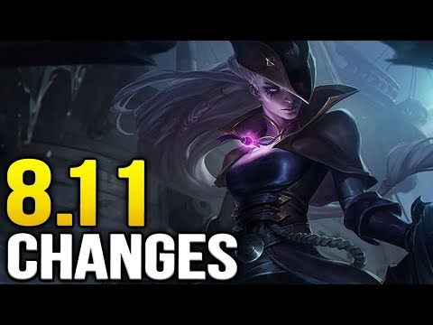 Big changes coming soon in Patch 8.11 (League of Legends)