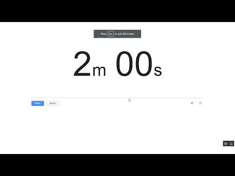 2 minutes timer YouTube
