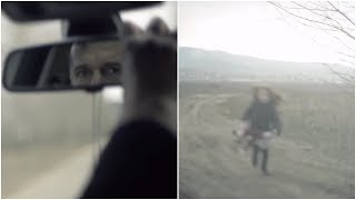 Dad Leaves Her on a Dirt Track. But Wait Till You See When He Checks the Rear-View Mirror