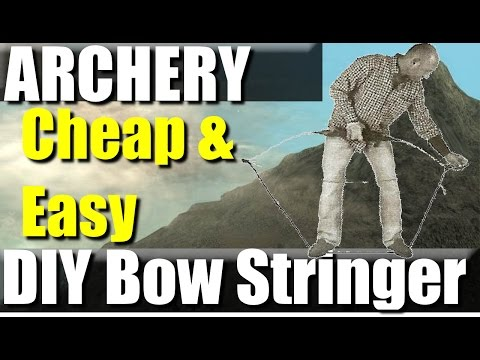 How To make a Bow Stringer for Pennies | RevHiker