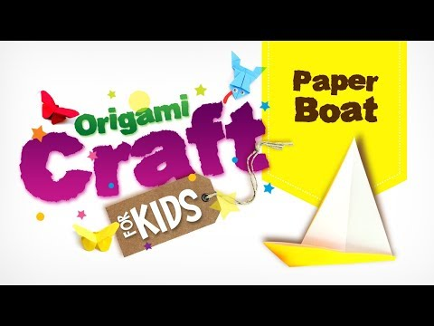 How to make Origami Paper Boat in tamil | Origami Craft for Kids | Easy Paper Craft | DIY Craft
