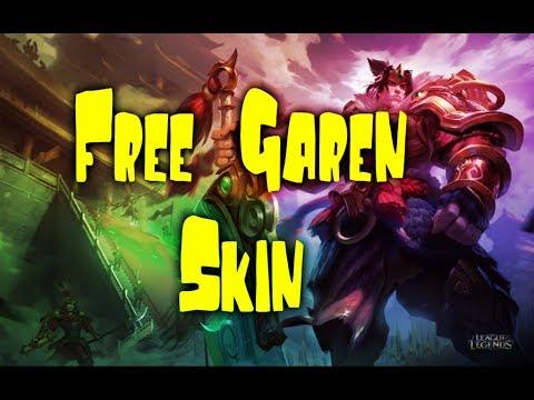 GET FREE SKIN GAREN IN 2min - 2018