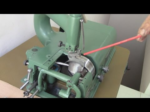 LEATHER UPHOLSTERY- A Skiving Machine-PART I