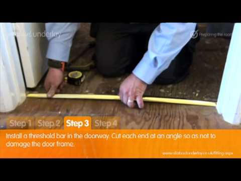 AllAboutUnderlay.co.uk - Simple Guide to Laying Carpet & Underlay Part 1 - Preparing the Room