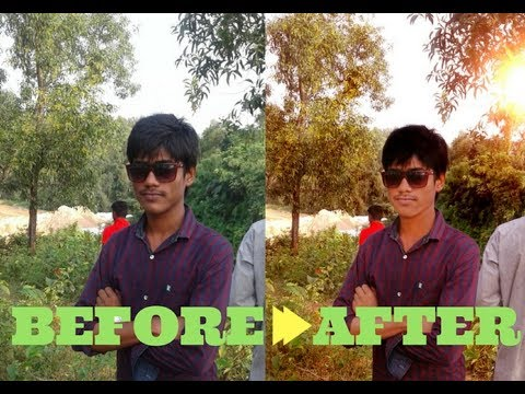 Changing Background Color In Photoshop | Clean Face In Photoshop..!