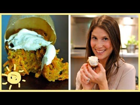 EAT | Healthier Carrot Cake Cupcakes