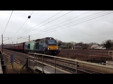 Freight & Passenger Variety - Brock & Woodacre - 28th February 2015
