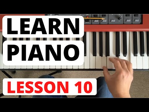 Piano for Beginners, Lesson 10 || More scales, and playing staccato