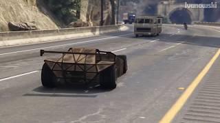 GTA 5 - CAN A RAMP CAR FLIP A TRAIN?