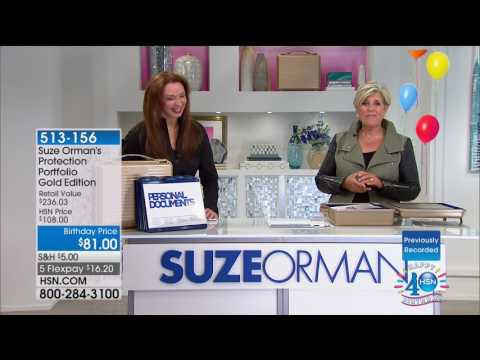 HSN | Suze Orman Financial Solutions for You Celebration 07.23.2017 - 06 AM