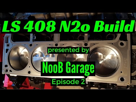 LQ4 408 Stroker Nitrous Build 2